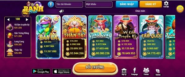 Banh.club là cổng game cho phép bạn tải về chơi miễn phí
