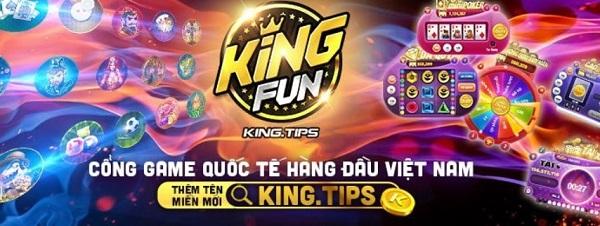 King.fun là một trong những game slot đổi thưởng uy tín năm 2020