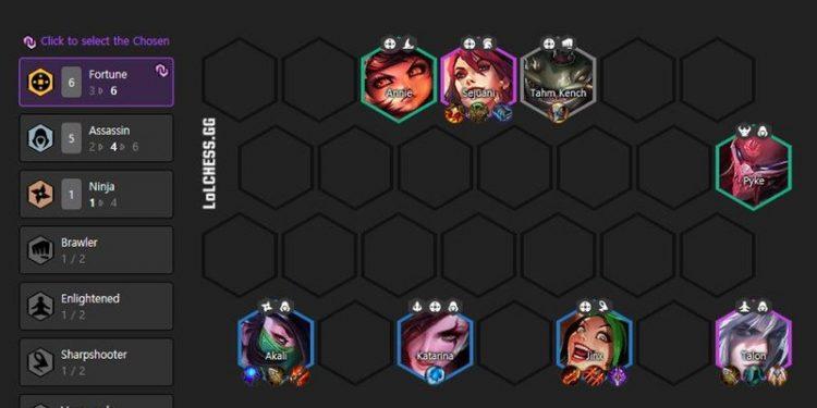DTCL: Hướng dẫn Top đội hình 6 Thần Tài mạnh nhất Mùa 4 bảo đảm không đụng hàng ai