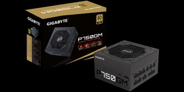 Gigabyte tham chiến thị trường PSU với P750GM và P550B