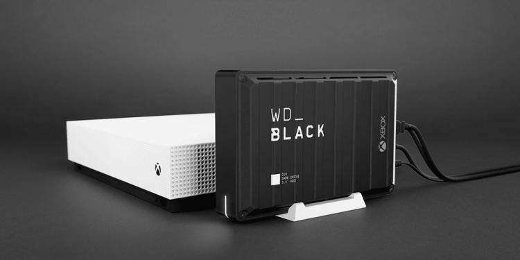 Ổ cứng di động WD_Black D10 12TB - giải pháp lưu trữ toàn bộ game và dữ liệu giải trí