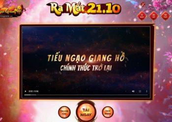 Chưa đầy 24 tiếng nữa, Tiếu Ngạo Giang Hồ Online chính thức trở lại
