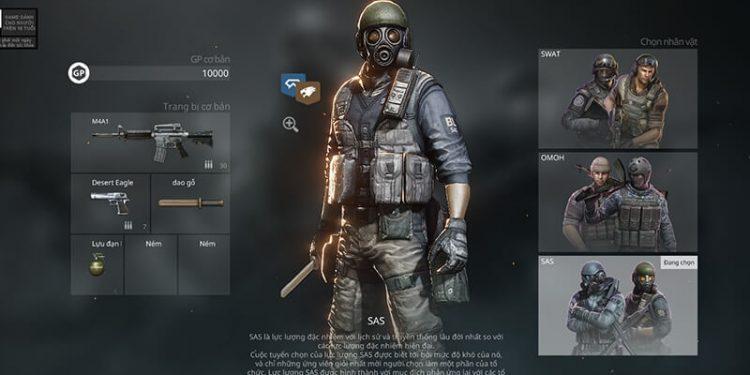 Crossfire Zero – Tiếng Việt sẵn sàng, chơi không quá giật lag