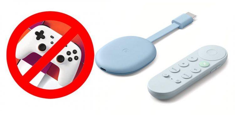 Google Chromecast mới nhất sẽ chưa hỗ trợ dịch vụ stream game Stadia