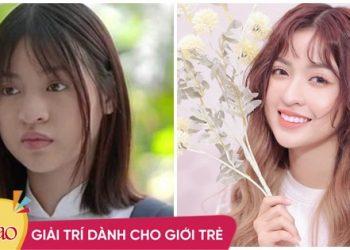 'Hot girl trứng rán' lộ nhan sắc thật trên phim 'một trời một vực' hình photoshop