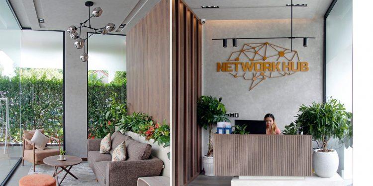 Network Hub - Không gian xanh cho môi trường công nghệ