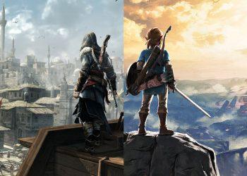 Những điểm giống nhau thú vị giữa Assassin's Creed và The Legend of Zelda