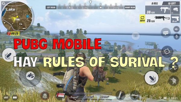 PUBG Mobile hay Rules of Survival, đâu sẽ là lựa chọn đúng đắn cho người chơi mới làm quen với thể loại Battle Royale?