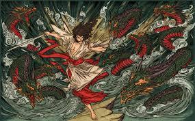 Susanoo - Vị thần từng tự tay giết Bát Kì Đại Xà Orochi là ai?