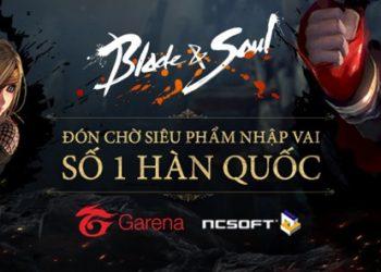 Trang chủ Blade & Soul Việt Nam chính thức ra mắt game thủ