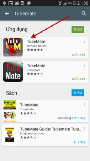 tải app tubemate android